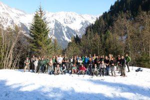 Stage de formation du réseau Loup, en Isère.