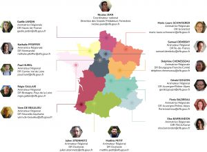 Animateurs régionaux du réseau Loup France