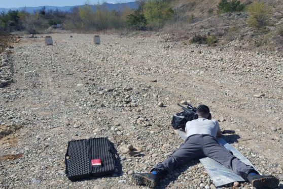 Formation aux tirs du Réseau Loup-Lynx.