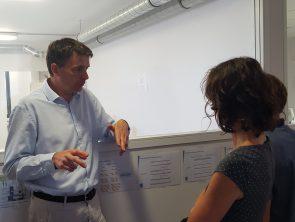 Les échanges entre les équipes du laboratoire et l'équipe Réseau  © N Jean / ONCFS